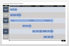 Roadmap Project Free Product Roadmap Templates Smartsheet