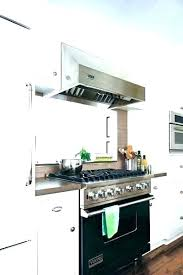 stainless steel vent hood. Vent Hood Installation Under Cabinet Range Microwave Stainless Steel Stove And W