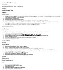 Associate Art Director Resume Sample Resume Builder