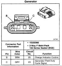 pin alternator wiring diagram image wiring diagram alternator wiring performancetrucks net forums on 2 pin alternator wiring diagram