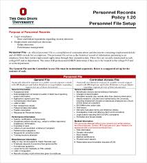 Employee Record Templates 26 Free Word Pdf Documents