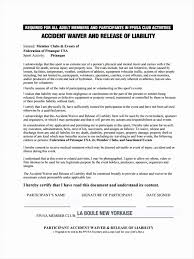 Release Of Liability Form Examples Impressive 28 Of Legal Waiver ...
