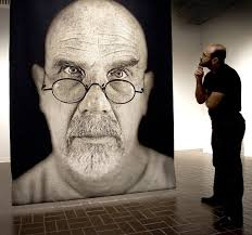 chuck close photorealist painter and photographer alastair wallace