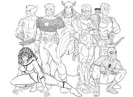 Best Of Avengers Coloring Page Pictures Seven Hero Of The Avengers