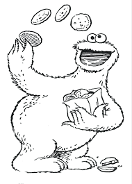 Sesame Street Coloring Pages Zoe Watch Episodes Printable Abc Abby ...