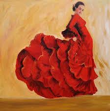 flmenco dancer in red 2 jpg