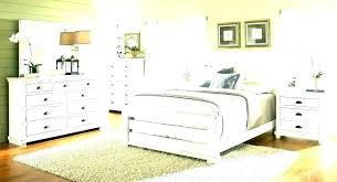 bedroom set ~ Distressed White Bedroom Set King Bed Rustic Frame ...