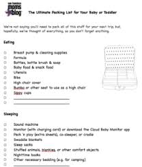 San Francisco Moms Guide To Traveling With Kids Free Printable
