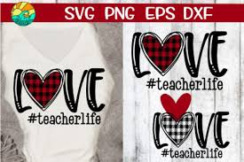 Download icons in all formats or edit them for your designs. Free Svgs Download Love Teacher Life Buffalo Plaid Svg Png Dxf Eps Free Design Resources