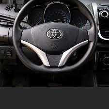 <b>lsrtw2017 abs car steering wheel</b> trims for toyota vios yaris 2013 ...