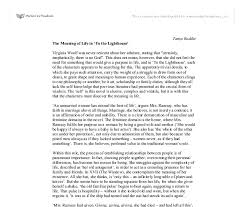 the meaning of life in to the lighthouse virginia woolf  document image preview