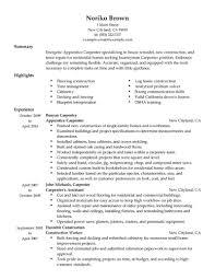 Carpenter Resume Sample Apprentice Carpenter Resume Sample Carpenter Resumes LiveCareer 27
