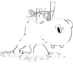 Hippo Coloring Pages Download Free Printable And Coloring Pages