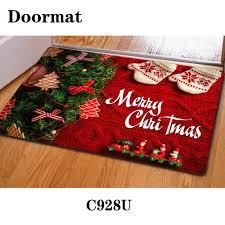 Design 3d Print Front Door Mat Floor Carpet Merry Christmas Rug ...