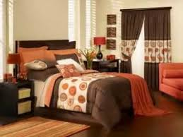 Bedroom Beautiful Brown And Orange Bedroom Ideas With Within Brown And Orange  Bedroom Ideas