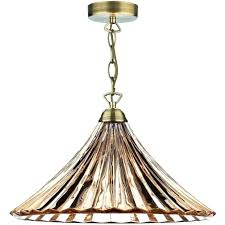 antique brass ceiling light lighting single pendant with amber glass modern lights