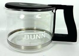 coffee maker cup replacement carafe glass black lid 1 of available bunn pots