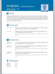 Formatos De Curriculum Vitae En Word Gratis Modelos De Curriculum Vitae En Word Para Completar Modelos