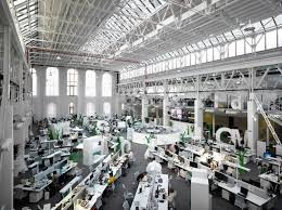 office workspaces. The Office Space Uses A Gigantic Open Layout That Spans Nearly 20,000 Square Feet. You Could Really Fit Lot Of JP Workstations Into An Workspaces