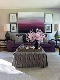 purple and grey living room. interior design ideas living room purple and grey sofa table decorations o