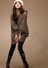<b>Fashion Loose Woman</b> Round Neck Batwing Sleeve Pullovers ...