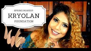 sinhala kryolan foundattion spring makeup sri lankan
