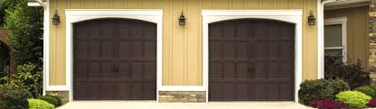 walnut garage doorsCarriage House Steel Garage Doors 9700