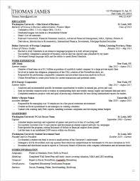 investment banking resume template