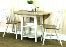 round dining table set with leaf with drop leaf dining table set kitchen round and small
