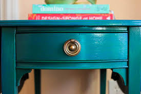 caribbean furniture. Easy Furniture Painting Technique - Create A Caribbean Blue Finish By Layering Colored Glazes. O