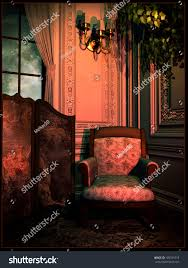 Red Light Vintage Costume Royalty Free Stock Illustration Of Vintage Room Red Light