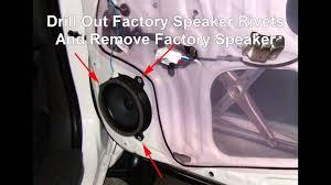 install front doorHow To Install Front Door Speakers In A Toyota Hilux  YouTube