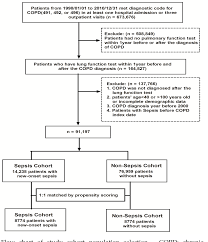 Copd Inhalers Chart Copd Flow Chart Diagram Exacerbation Flowchart Treatment