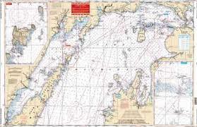 Lake Michigan Nautical Chart Northern Lake Michigan Nautical Chart