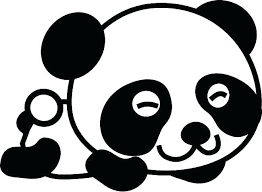 Combo Panda Coloring Sheets Bear Free Page Picture Adult Pages Col