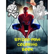 The most common spiderman art material is paper. Spider Man Coloring Book 70 Pages With Spiderman Illustrations For You To Have Fun Coloring Them To Your Liking Paperback Walmart Com Walmart Com