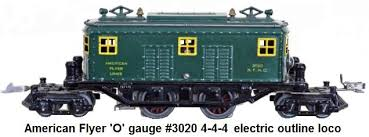 american flyer trains american flyer o gauge electric outline 4 4 4 locomotive