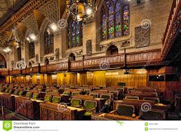 Interior Of The Canada Commons Of Parliament Ottawa Editorial - Houses of parliament interior