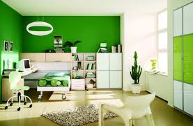 green wall paintbedroom  Dark Green Wall Paint Colors Book Shelves Glass Window
