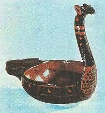 Цивилизация Древнего Китая Империи Цинь и Хань  Циньская лаковая ладья Из раскопок в Хубэе iii в до н э