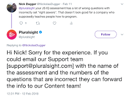 Pluralsight Iq Incorrect Questions In Test Meta Stack Overflow