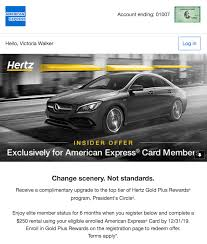 Hertz Points Redemption Chart Targeted Get Complimentary Hertz Presidents Circle