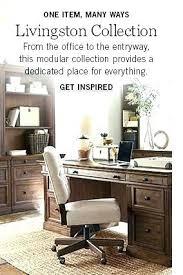 modular desks home office. Pottery Barn Modular Desk Home Office Accessories Desks Writing .