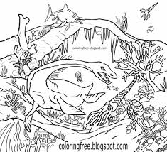 Ocean Color Page Coloring Pages Kids Art Studio And Wpvoteme