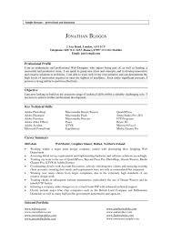Sample Profile Statement For Resume Resume Profile Examples Professional Templates shalomhouseus 26