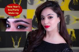 new years make up party make up hindi
