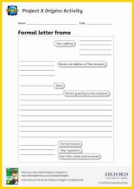 letter planning template ks2 fresh sheet