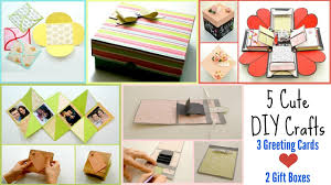 diy school supplies 5 back to school crafts 3 easy greeting cards 2 cute gift boxes everything 4