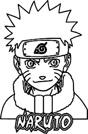 Naruto Uzumaki Coloring Pages Naruto Coloring Pages Naruto