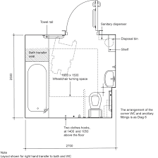 dimensions for disabled toilet. handicap bathroom dimensions minimum accessible size toilet under the for disabled